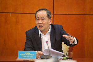Thứ trưởng Lê Khánh Hải được giới thiệu ứng cử vị trí Chủ tịch VFF