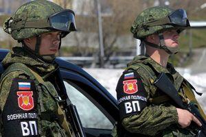 Nga triển khai quân cảnh đến tuần tra cao nguyên Golan