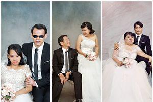 Xúc động trước bộ ảnh cưới của các cặp đôi khuyết tật