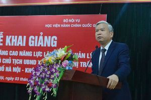 Hà Nội: Đào tạo nâng cao năng lực cho Chủ tịch, Phó Chủ tịch cấp xã