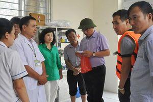 Đảm bảo công tác chăm sóc sức khỏe cho người dân vùng ngập úng
