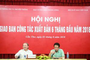 6 tháng đầu năm, ngành xuất bản Việt Nam in 165 triệu bản sách giấy