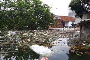 Hà Nội: Ngập lụt dài ngày, dân lo phát sinh dịch bệnh