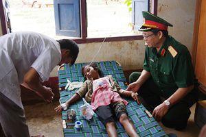 Bộ Tư lệnh Quân khu 5 hỗ trợ người dân Lào sau sự cố đập thủy điện