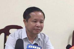 Giám đốc Sở GDĐT Hòa Bình: Tôi xin lỗi các em học sinh và phụ huynh
