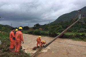 Gần 13.600 khách hàng bị ảnh hưởng mưa lũ được khôi phục điện trong ngày 23/7