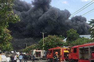 Hiện trường tan hoang vụ hỏa hoạn thiêu rụi xưởng gỗ 5.000m2
