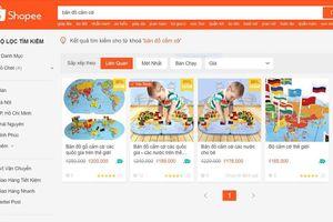 Vụ 'Đường lưỡi bò' chễm chệ trên đồ chơi giáo dục: Quản lý thị trường vào cuộc