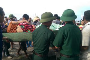 Tai nạn thương tâm ở bến cá Cửa Lân
