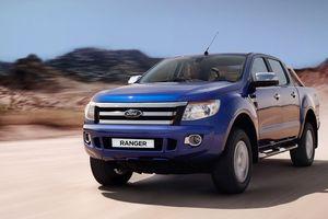 Hơn 2.500 xe Ford Ranger phải triệu hồi để sửa chữa