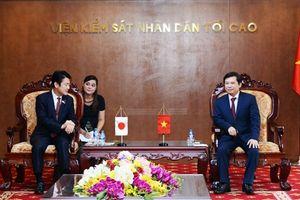 Nâng cao hiệu quả hợp tác giữa VKSND tối cao Việt Nam và Bộ Tư pháp Nhật Bản