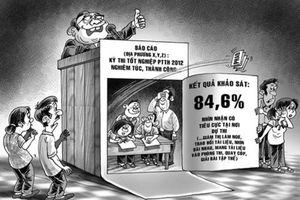 Gian lận thi cử: Khi nền tảng xã hội bị tấn công