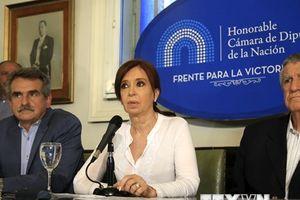 Cựu Tổng thống Cristina Fernandez bị kiến nghị khám xét nơi ở