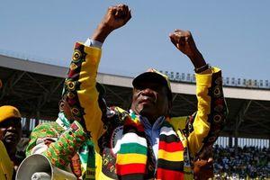 Tổng thống Nam Phi chúc mừng Tổng thống Zimbabwe tái đắc cử
