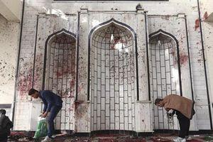Afghanistan: Đánh bom thánh đường Hồi giáo, hơn 60 người thương vong