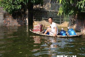 Phòng tránh dịch bệnh lây lan tại những khu vực nước rút
