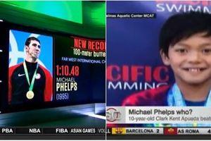 Vận động viên 10 tuổi phá vỡ kỷ lục bơi bướm của Michael Phelps
