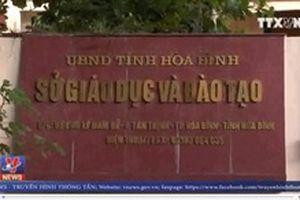 Khởi tố vụ án bài thi THPT quốc gia tại Hòa Bình có dấu hiệu can thiệp tăng điểm