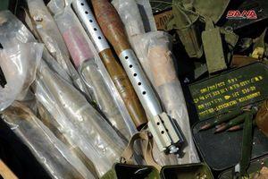Quân đội Syria tìm thấy kho vũ khí IS do Israel sản xuất?