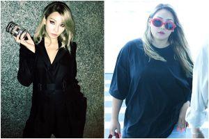 Fan hốt hoảng vì ngoại hình tròn trịa bất thường của CL tại sân bay