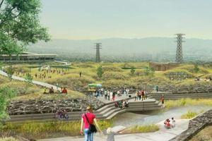Thiết kế không gian xanh ngập nước: giải pháp chống lũ trong đô thị