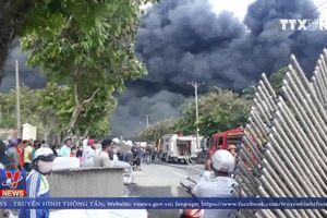Kịp thời dập tắt vụ cháy trong KCN