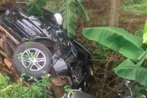 Đắk Lắk: Tai nạn giữa 2 ôtô và 1 xe máy làm 5 người bị thương