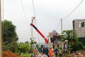 Phú Thọ cơ bản khắc phục sự cố về lưới điện