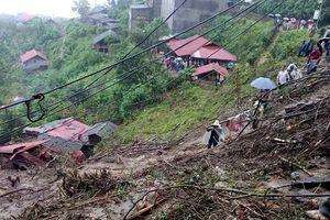 6 người chết, 4 người mất tích do sạt lở đất ở Lai Châu 