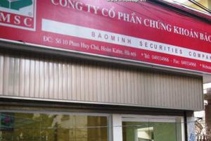 50 triệu cổ phiếu của Chứng khoán Bảo Minh sắp lên sàn UPCOM