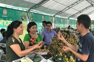 Nhãn và nông sản Sơn La đến với người tiêu dùng Hà Nội