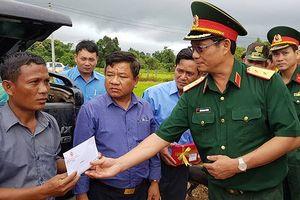 Quân khu 5 giúp Lào khắc phục hậu quả vỡ đập thủy điện Sa Nảm Noy