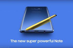 Galaxy Note9 lộ diện trong clip rò rỉ mới