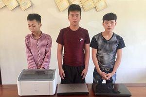 Hà Tĩnh: Ổ nhóm đột nhập nhà dân, cơ quan, trường học trộm cắp tài sản sa lưới