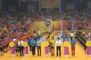 Khởi tranh Giải bóng chuyền nữ quốc tế tại Hà Tĩnh