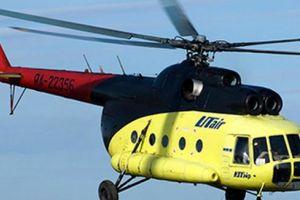Trực thăng Mi-8 rơi ở Nga, 18 người thiệt mạng