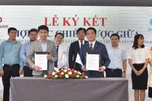 Hòa Bình ký kết hợp tác chiến lược với tập đoàn Thành Nam