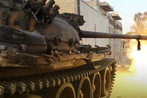 Giao tranh ác liệt giữa quân đội Syria và khủng bố ở Bắc Hama