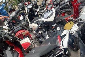 Bắt nhóm đối tượng chuyên trộm xe máy hạng sang ở Nha Trang