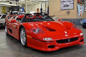 Rao bán siêu xe Ferrari F50 đầu tiên trên thế giới