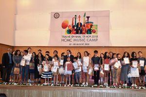 TPHCM: 20 trại sinh quốc tế tham gia trại hè âm nhạc