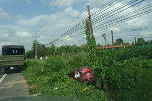 Đình chỉ công tác một thượng úy CSGT lái ô tô tông chết 2 người