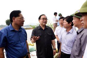 Khẩn trương khắc phục hậu quả mưa lũ tại huyện Chương Mỹ (Hà Nội)