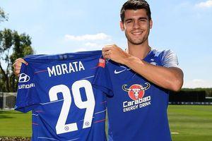 Alvaro Morata bỏ số áo đen đủi, hứa 'chung tình' với Chelsea