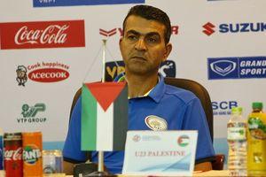 HLV Palestine ngỡ ngàng trước lối chơi của U23 Việt Nam