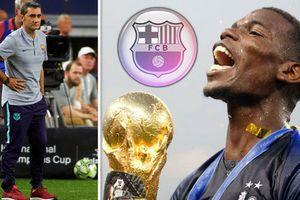 MU hốt hoảng lo mất Pogba, Arsenal chiêu mộ Vida