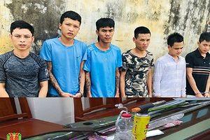 Đối tượng bảo kê máy gặt chống trả công an khi bị bắt
