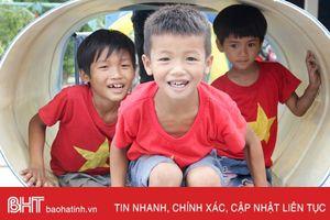Formosa Hà Tĩnh hỗ trợ xây dựng khu vui chơi cho trẻ em