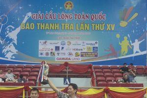 Giải Cầu lông toàn quốc Báo Thanh tra lần thứ 15 thành công tốt đẹp