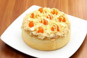 Công thức bánh bông lan trứng muối mềm thơm ăn sáng ngon miễn chê